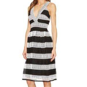 Kate Spade Color Block Lace V-Neck dress Size 0
